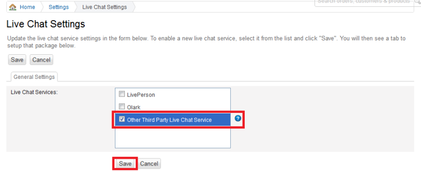 Add live chat for BigCommerce - HelpOnClick