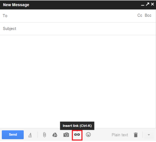 Insert direct link to live chat in Gmail - HelpOnClick