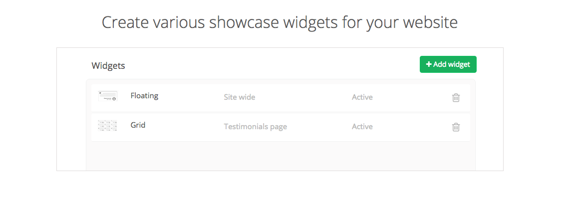 Product Overview - Widgets Repuso