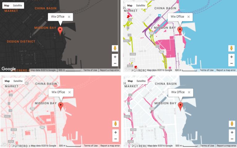 web design trends maps